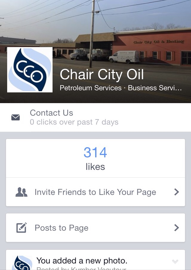 Chair City Oil Facebook Page. u201c  sc 1 st  Chair City Oil & Chair city oil on Facebook | Chair City Oil u0026 Heating