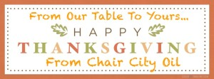 Chair City Oil Thanksgiving 2015